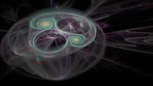 Orbiting Spirals by Itsadequate