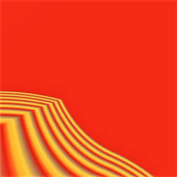 Angled red wave 1