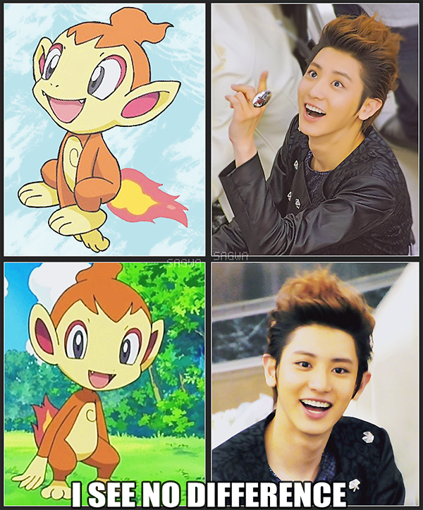 ChimcharYeol - EXO k Pokemon by SwagSagwa