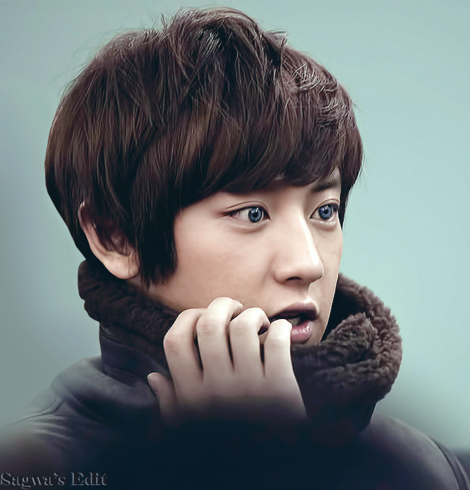Blue Eyes Chanyeol - Yeollie by SwagSagwa