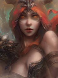 Demon Hunter by Enshanlee