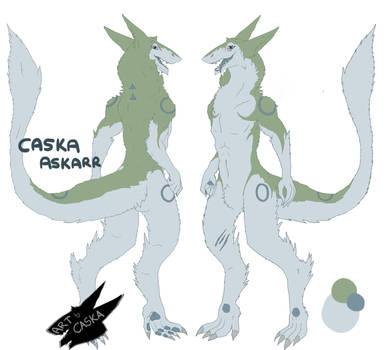 Caska The Sergal