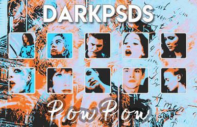 PSD #25 POW POW - BY DARKPSDS by darkpsds