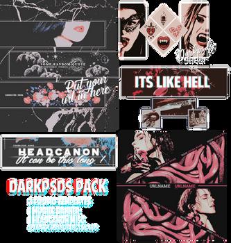 DARKPSDS PACK * by darkpsds