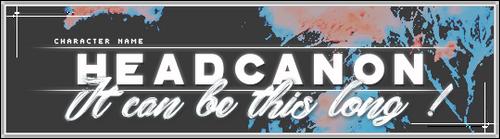 HEADCANON TEMPLATE #1 * BY DARKPSDS by darkpsds