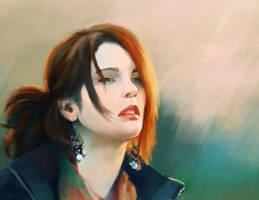 portrait4 by Lagunaya