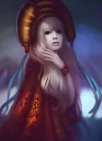 white Princess by Lagunaya