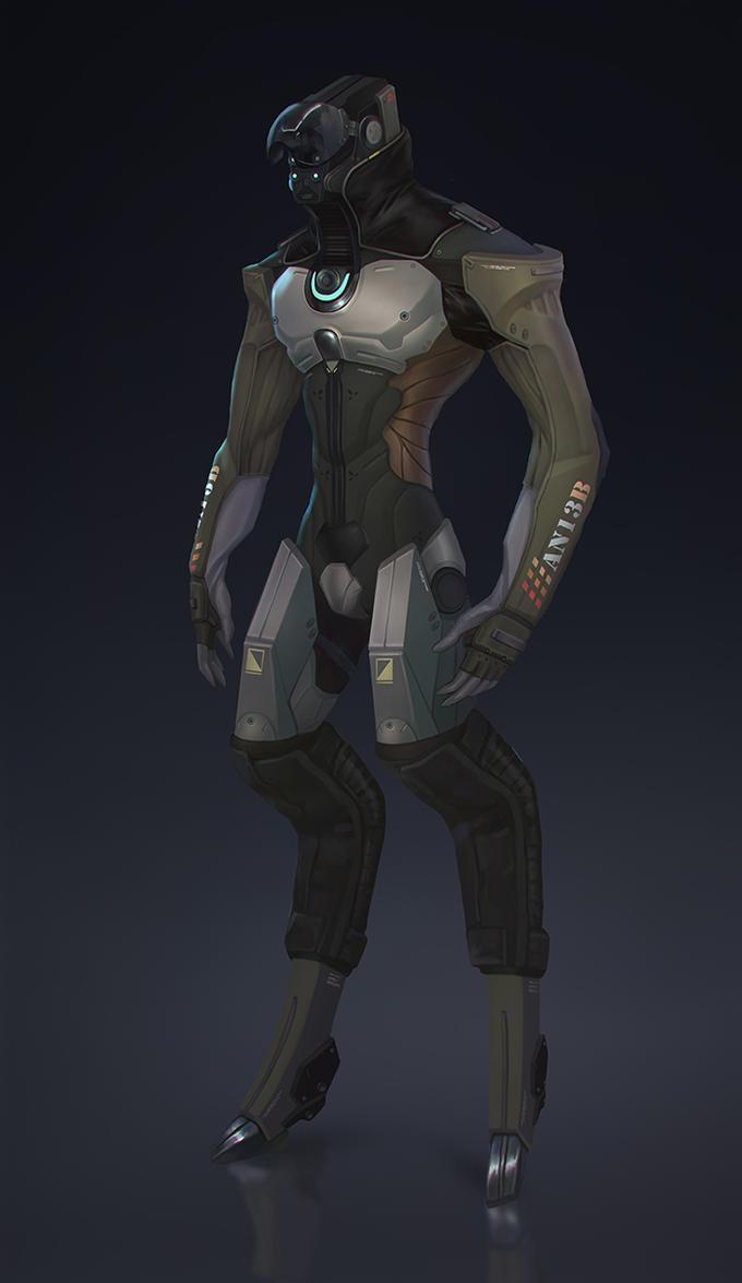 Robot by Lagunaya