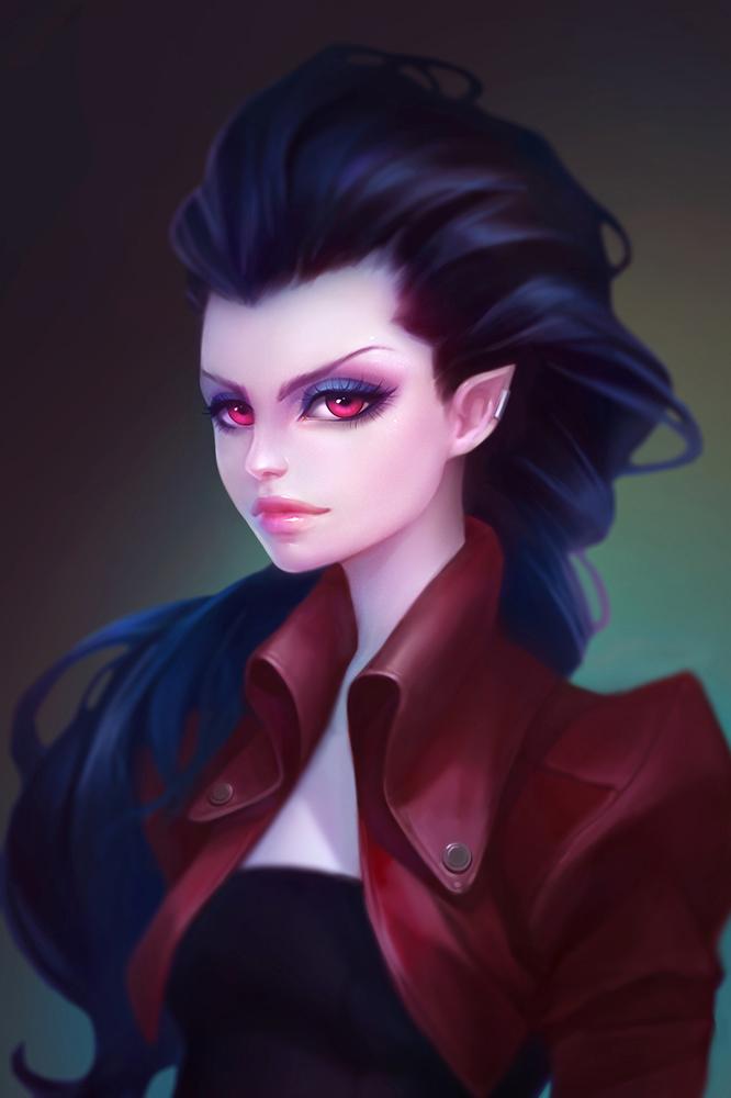 Аниме красивые девушки вампиры