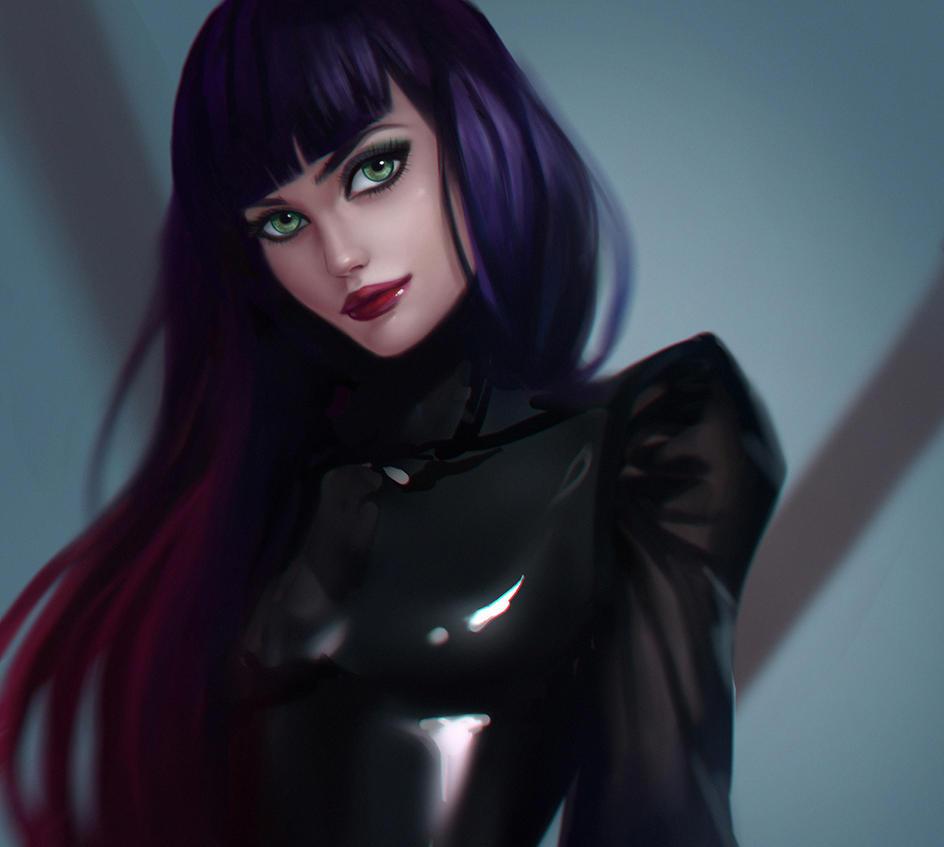 V portrait by Lagunaya