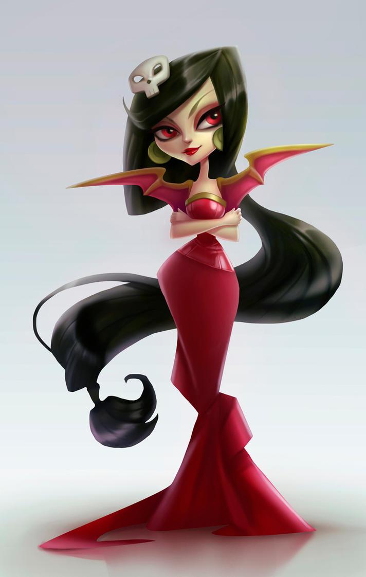 Character concept Ravi by Lagunaya
