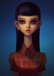 Portrait_12 by Lagunaya