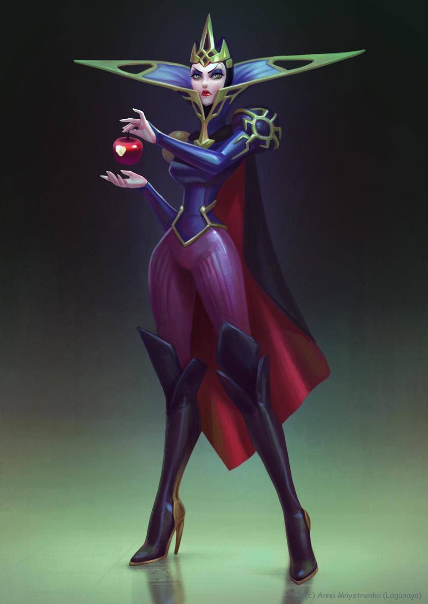 Evil Queen by Lagunaya on DeviantArtDisney Evil Queen Art