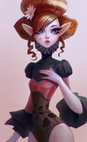 Ginger Elf by Lagunaya