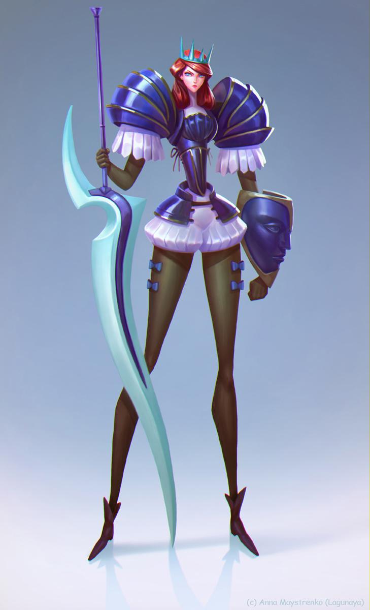Princess_knight by Lagunaya on DeviantArt
