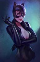 Catwoman by Lagunaya