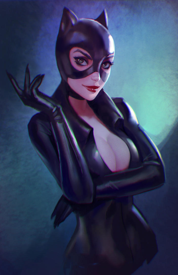 Catwoman nude cartoon pic 99
