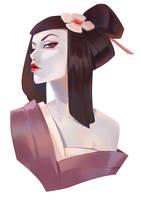 Geisha by Lagunaya
