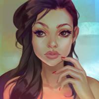 Portrait_6 by Lagunaya