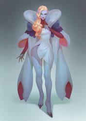 Dark elf_concept art by Lagunaya