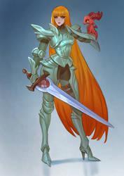 Ginger knight by Lagunaya