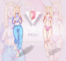 Adopt. Auction. Anthro bunny Krol'. [OPEN] by Markiya