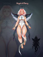 Adoptable Auction. Angel of Mercy.  OPEN  by Markiya