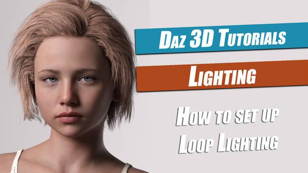Daz 3D : How To Set Up LoopLighting
