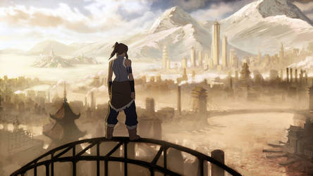 Avatar Legend of Korra HD WP by Saidryian