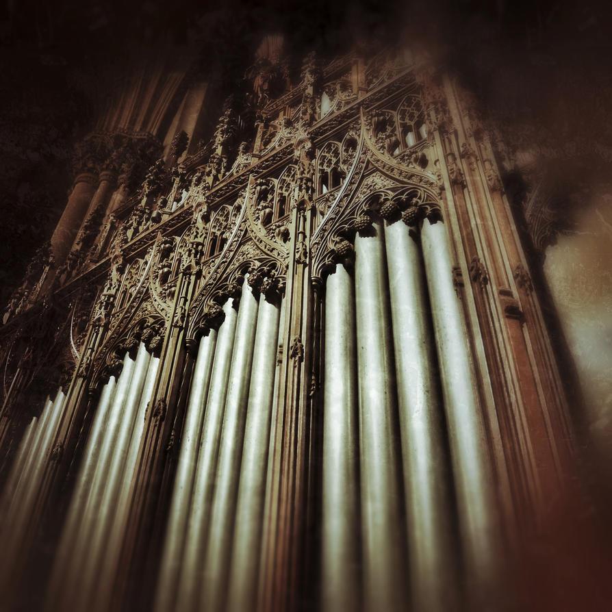 Organ Of St. Patricks NYC by KatieJoArt
