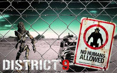 District 9 Poster by deviantfafnir