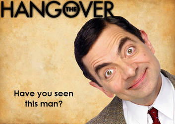 The Hangover Poster (ft. Mr. Bean) by deviantfafnir