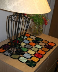 stained glass tobletcloth