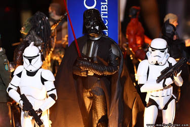 Darth Vader and Troopers by Maxicollector