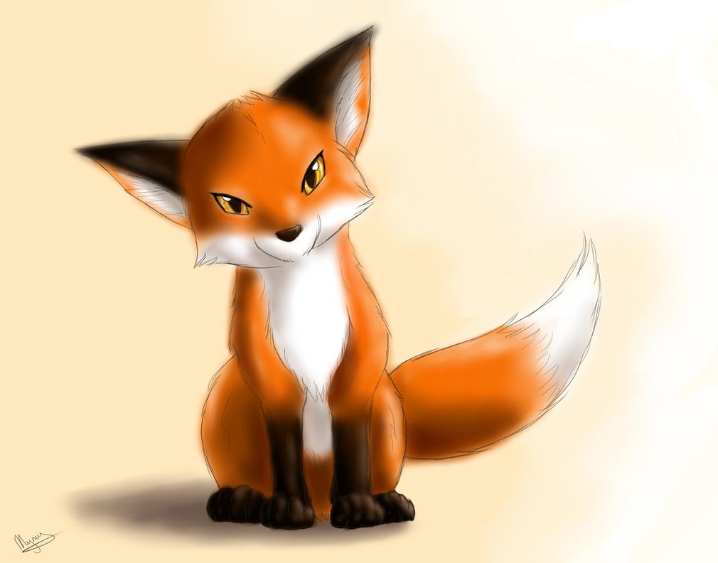 Little fox by H-brid on DeviantArt
