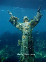 Christ of the Abyss by aquaticdivinity