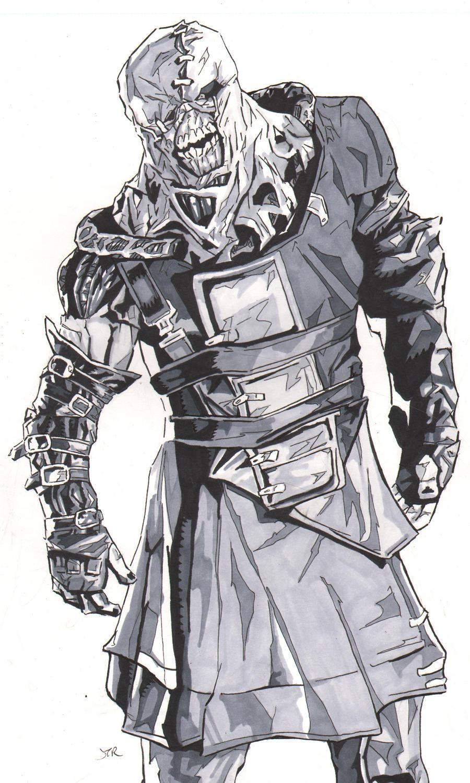Resident Evil Nemesis by monstercola