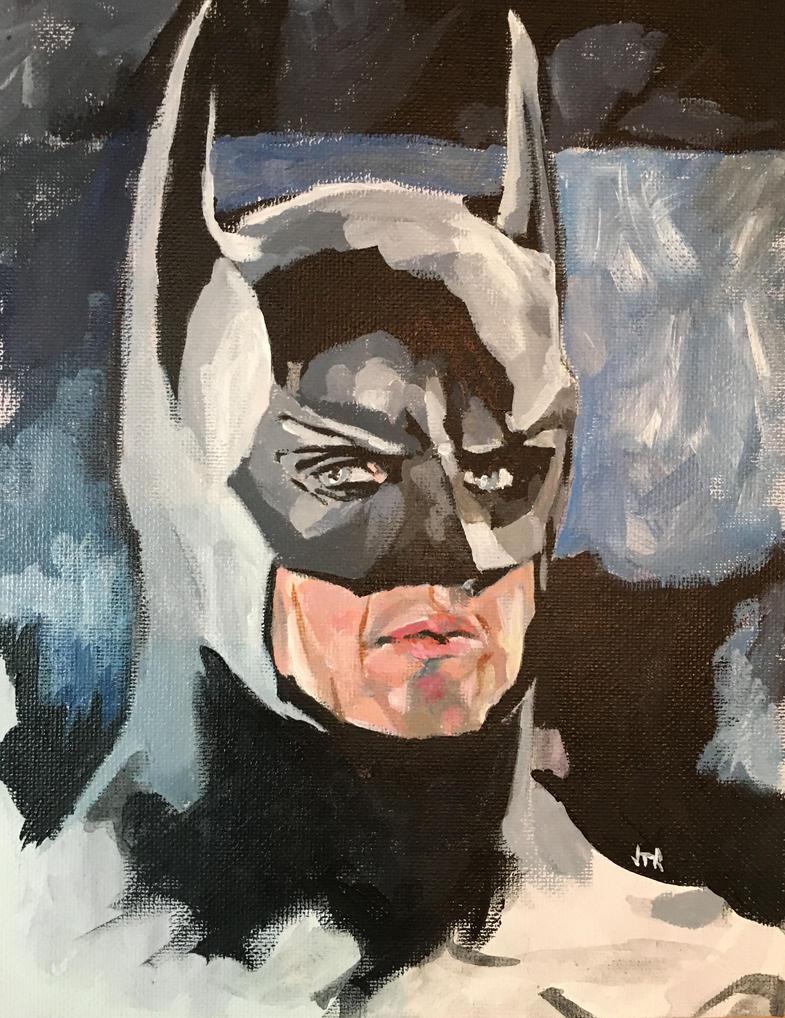Keaton's Batman by monstercola