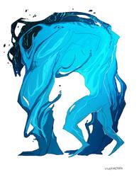 blue indulgence by SilverMender