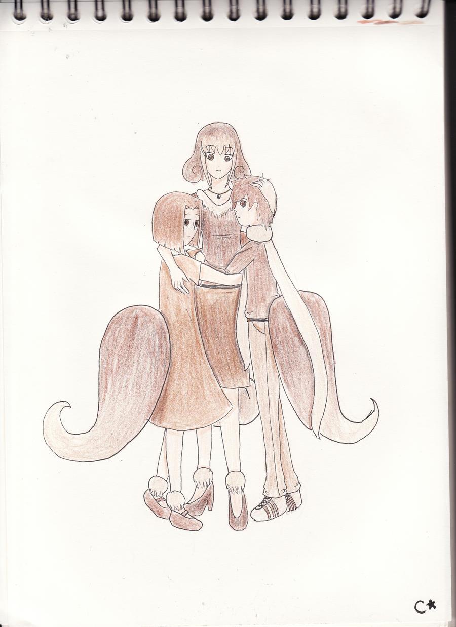 Famille evoli by TRCelyne