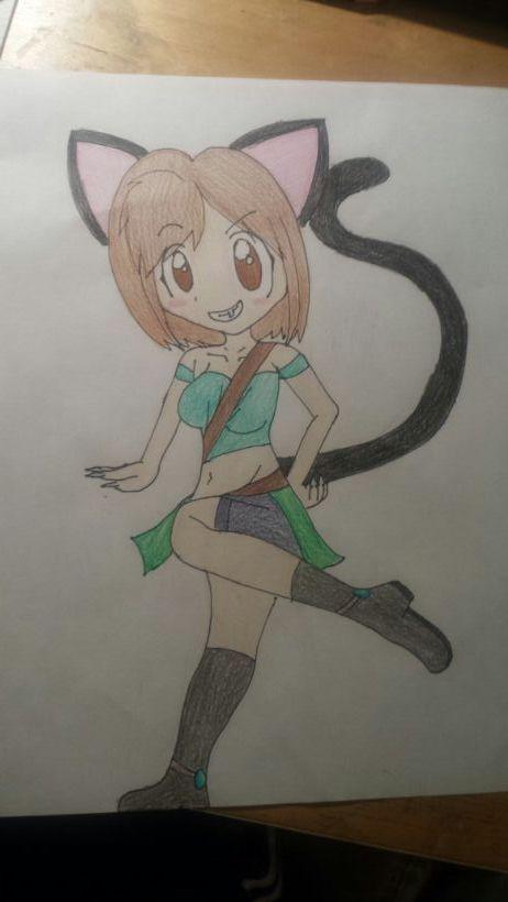 Warrior Neko Alice by Link0227