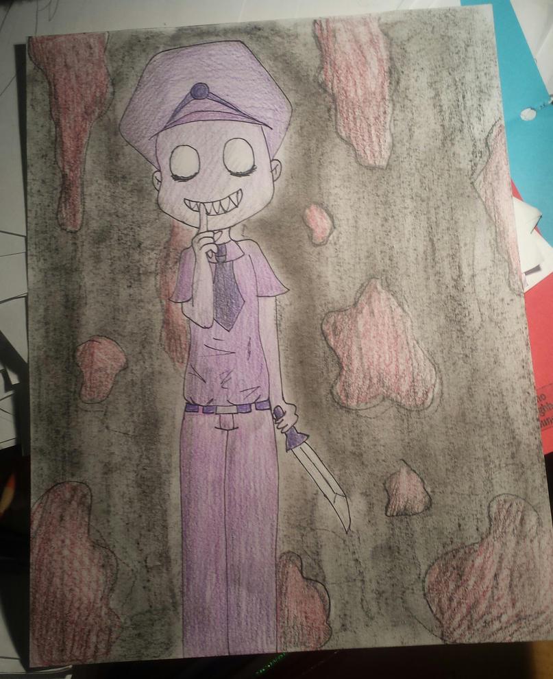 Purple Guy by Link0227
