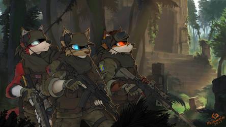 YCH Jungle squad