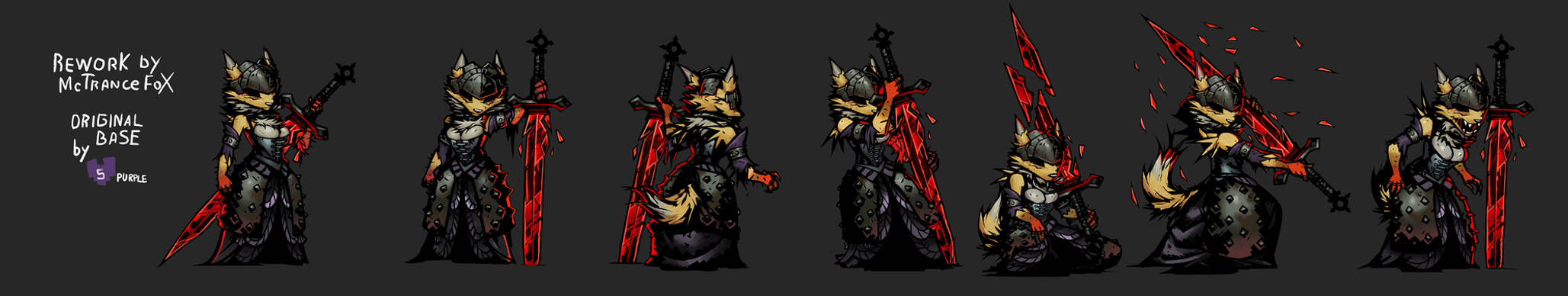 BloodRena (working) sprites  preview