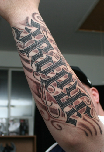 tattoo lettering designs. Ambigram Tattoos