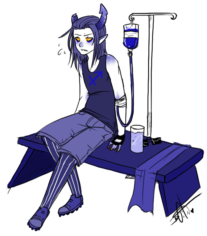 B100 Transfusion by Squidbiscuit