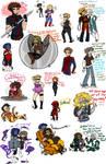 Marvel Sketch Dump 12 by Squidbiscuit