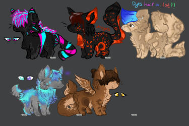 Meh Adopts [OPEN] by SilverPandorica
