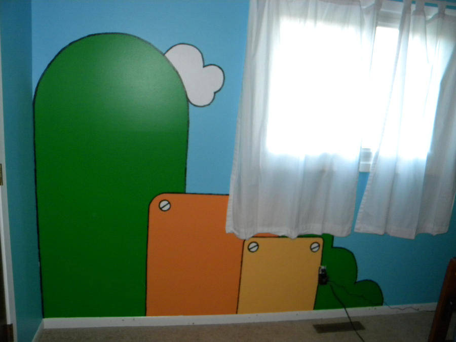 mario wall mural part 2 by mightyrain on deviantart