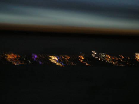 lumieres dans la nuit